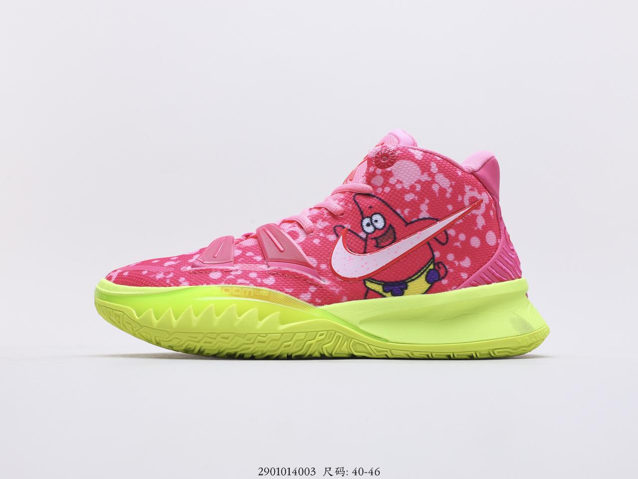 耐克Nike Kyrie 7 Pre Heat 欧文7时尚休闲运动篮球鞋搭载Air Zoom Turbo气垫