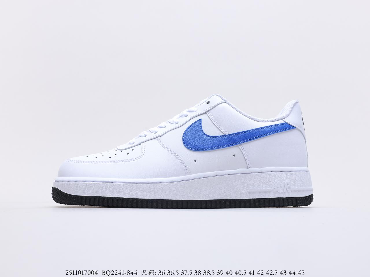 耐克Nike Air Force 1'07 Low 空军一号经典款鸳鸯勾头层板鞋