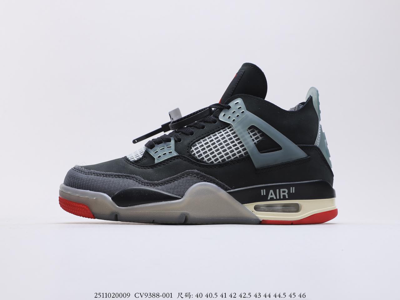 "乔丹Off-White™ x Air Jordan AJ4 RetroCreamSail""OW联名"